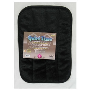 Deluxe Pet Mat 23 in. X 17 in. Black
