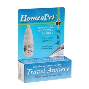 Dog HomeoPet Travel Anxiety