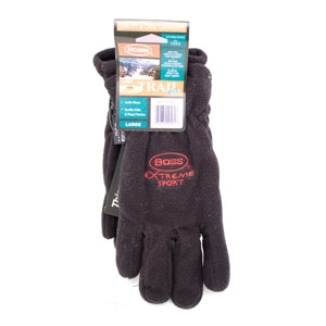 Thinsulate Arctic Extreme Fleece Glove Black/Large