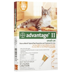 Advantage Small Cat Flea and Tick Killer
