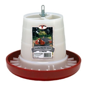 Plastic Hanging Feeder Red 11 lb.