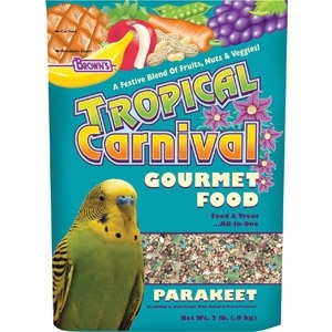 TROPICAL CARNIVAL NATURAL PARAKEET