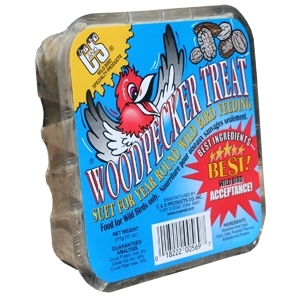 Woodpecker Treat Premium Suet Cake 11 oz.