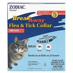 Zodiac Breakaway Flea & Tick Collar For Cat