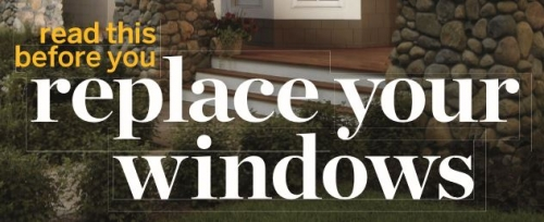 This Old House- A Guide To Replacing Windows