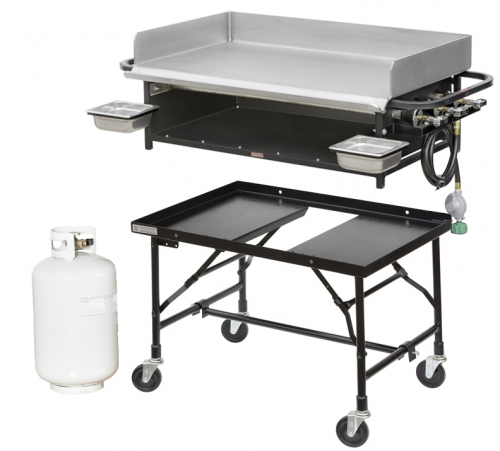Griddle - Propane w/cart