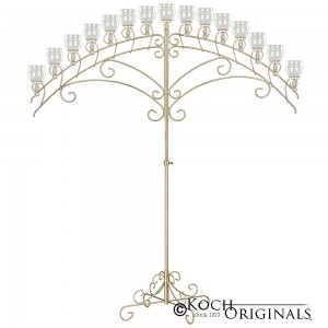 Candelabra 15 Light Arch