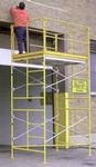 Scaffolding, 5' High, with Base Plates, (incl Safety Rails)