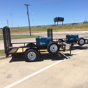 Trailer Mounted Welding Machine