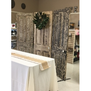 Antique Door Backdrop