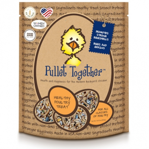 Pullet Together- Treats For Chickens 50% OFF $9.95