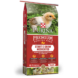 $2.00 Off Purina® Start & Grow Poultry Feed
