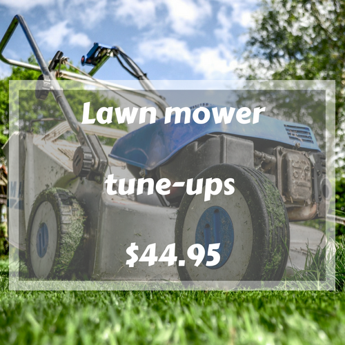 Lawn mower Tune-Up Special Price