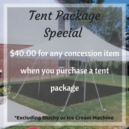 Tent Package Special