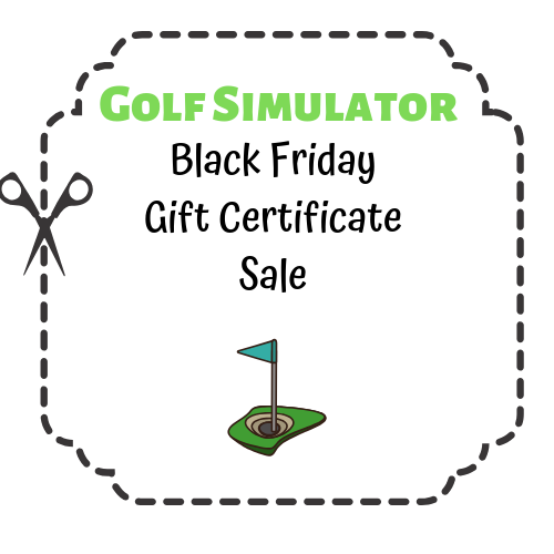 Black Friday Golf Simulator GC Sale