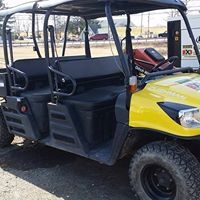CUSHMAN 6 PASSENGER 4X4 UTILITY-CONTRACTOR RENTAL ONLY
