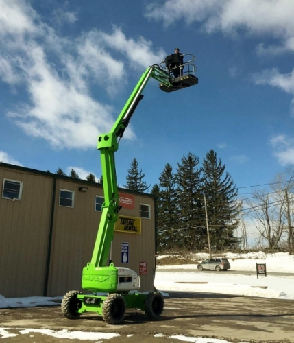 Self-Propelled Boom Lift-Contractor Rental ONLY!