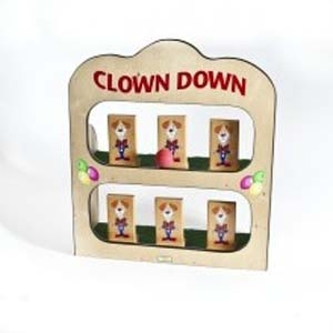 Clown Down Toss Game