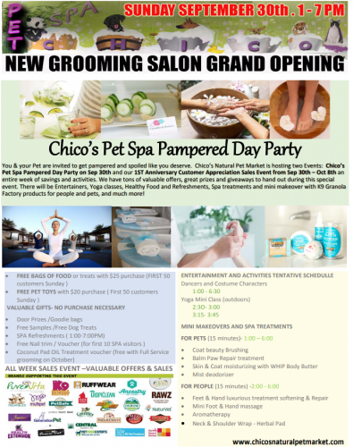 Open House & Pampered Day Party