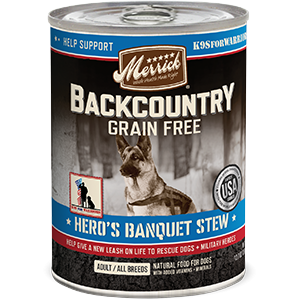 Backcountry Grain Free Hero's Banquet Stew
