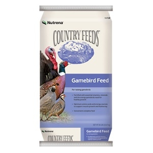 Country Feeds® Gamebird Grower 21% Pellets 50lb
