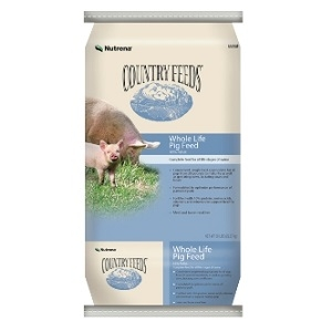 Country Feeds® Pig & Sow Feed 17% Pellet 50lb
