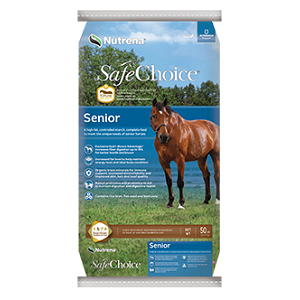 SafeChoice Senior Horse Feed 50lb