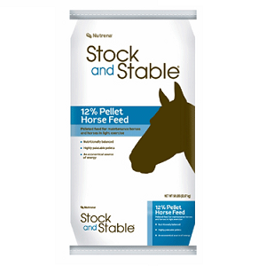 Stock and Stable 12% Pellet Horse Feed 50lb