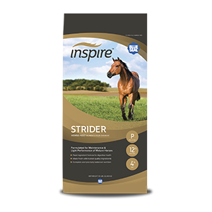 Inspire™ Strider 12% Pelleted Horse Feed 50lb