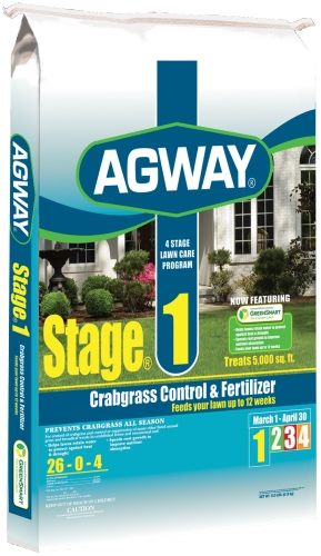 Agway Stage 1 Crabgrass Control & Fertilizer 26-0-4