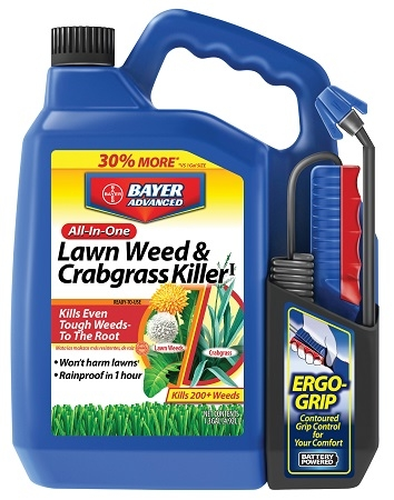 Bayer All-In-One Lawn Weed & Crabgrass Killer 1.3 Gallon RTU