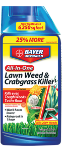 Bayer All-In-One Lawn Weed & Crabgrass Killer 40 Oz. Concentrate