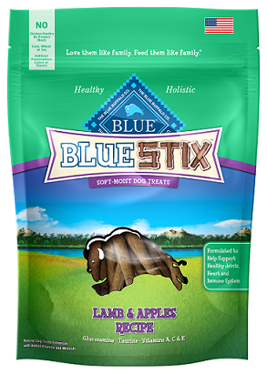 BLUE Stix™ Lamb & Apple Soft-Moist Dog Treats
