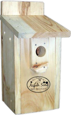 Aspen Song Bluebird Nest Box