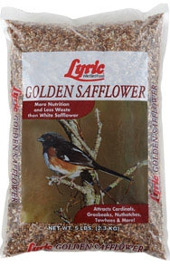 Golden Safflower Seed 5lb