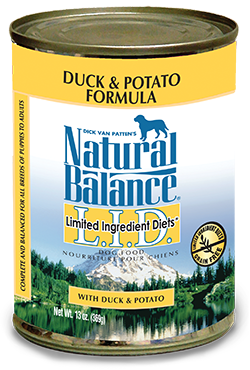 Natural Balance L.I.D. Limited Ingredient Diets® Duck & Potato Canned Dog Formula