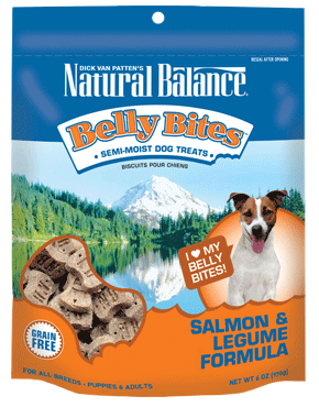 Natural Balance Belly Bites™ Salmon & Legume Semi-Moist Treats 6oz