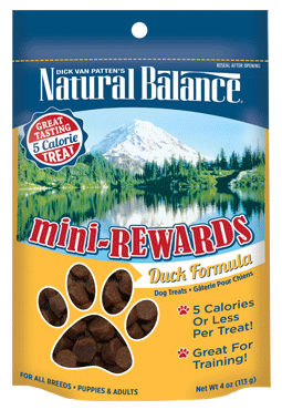 Natural Balance Mini-Rewards Duck Formula 4oz