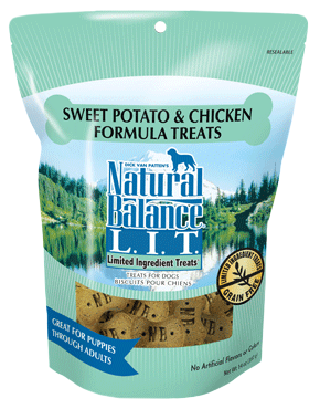 Natural Balance L.I.T. Limited Ingredient Treats® Sweet Potato & Chicken Formula