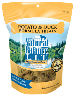 Natural Balance L.I.T. Limited Ingredient Treats® Potato & Duck Formula