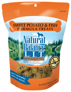 Natural Balance L.I.T. Limited Ingredient Treats® Sweet Potato & Fish Formula