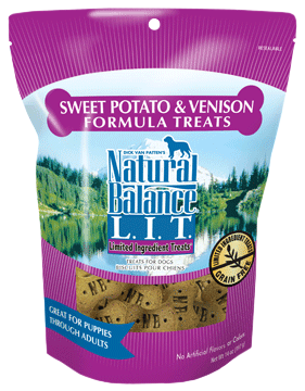 Natural Balance L.I.T. Limited Ingredient Treats® Sweet Potato & Venison Formula