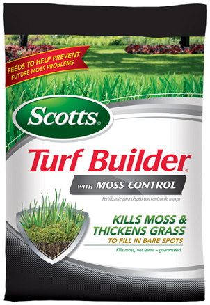 Scotts® Turf Builder® with Moss Control 5,000 Sq. Ft.