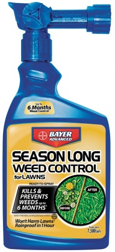 Bayer Season Long Weed Control For Lawns 24Oz. Ready-to-Spray