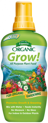 Espoma Organic Grow! All Purpose Liquid Plant Food 24 Oz. Concentrate