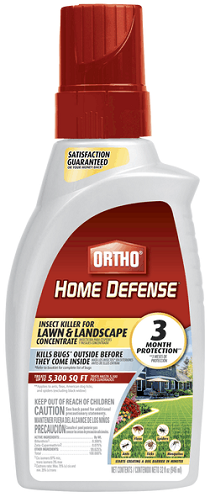 Ortho® Home Defense® Insect Killer for Lawn & Landscape 32 Oz. Concentrate