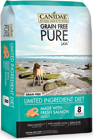 CANIDAE® Grain Free PURE Sea® Dog Dry Formula with Fresh Salmon 24lb