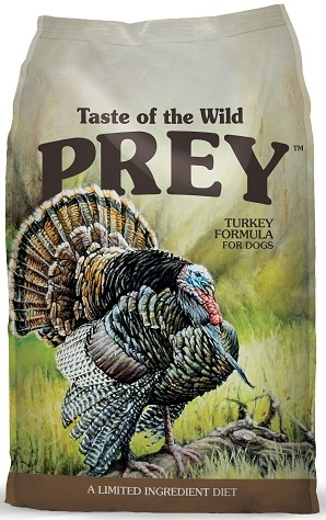 Taste of the Wild PREY Turkey Limited Ingredient Formula for Dogs