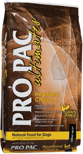 PRO PAC Ultimates Grain-Free Heartland Choice Dog Food