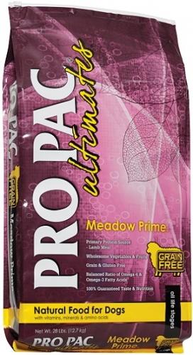 PRO PAC Ultimates Grain-Free Meadow Prime Dog Food